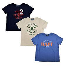 Polo Ralph Lauren Boys T Shirt Graphic Infant Tee Crew Neck 9 12 18 24 Months