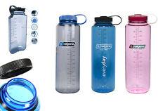 NALGENE SILO Everyday Trinkflasche 1,5 L BPA frei Weithals Wasser Sport Flasche