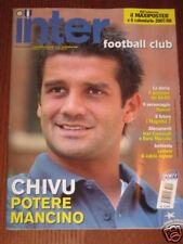 INTER FOOTBALL CLUB 2007/9 CHIVU MAICON FACCHETTI @@@@@