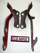 Toyota MR2 MK2 SW20 Bonnet Hinges Red 3E5 Turbo Mr MR2 Used Parts 1989-1999