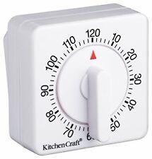 Kitchen Craft Minuteur de cuisine 120 minutes