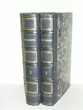 Cervantès Don quichotte illustration Tony Johannot dubochet 1836 belle reliure
