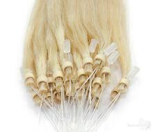 Remy Echthaar Microring Extensions, Haarverlängerung - 45cm, 50cm, 60cm Glam