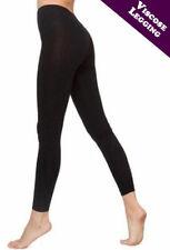 New Womens Ladies dancing CRAZY CHICK Black Viscose Leggings