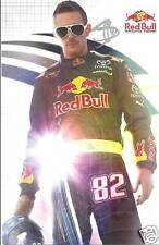 2009 SCOTT SPEED #82 RED BULL NASCAR POSTCARD SIGNED