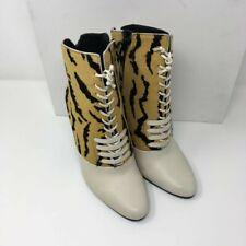 3.1 PHILLIP LIM Harleth Lace-up Leather Ankle Bootie - Tiger - UK 4, UK 5 - £540