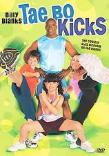 Tae Bo Kicks workout exercise fitness for kids children billy blanks DVD cardio