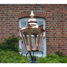 Antique Style Lantern - use with Victorian Garden Lamppost Lighting - Hexagonal
