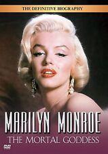 Marilyn Monroe - The Mortal Goddess  SEALED DVD  RARE LAST ONE