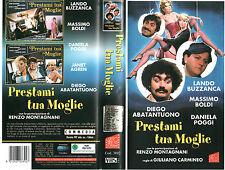 Prestami tua moglie (1980) VHS