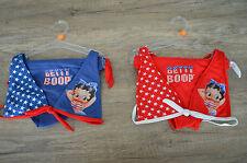 Betty Boop 2 Teiler Bikini Set Slip und BH Badeanzug TOP Gr. 128 140 152 cm