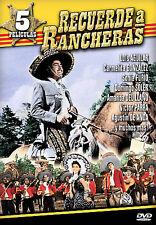 Recuerde del Rancheras 5 Peliculas DVD