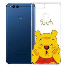 SILICONE TPU mobile Housse de protection CARTOON WINNIE THE POOH de Huawei Honor