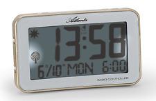 Réveil digital radio-piloté, répétition, double alarme, date - Atlanta 1804 Neuf