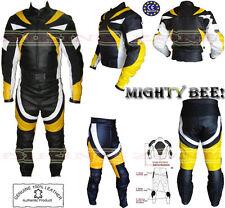 PUISSANT ABEILLE HOMMES CE PROTECTION MOTO / CUIR MOTO VESTE & COSTUME