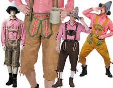 Seppelhose Tiroler Alpen Hose Lederhose Oktoberfest Karneval Kostüm