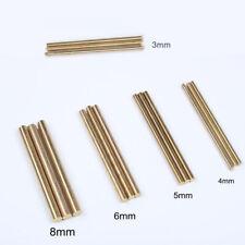 Brass Rod Bar Handles Knife Rivets Pin Pins DIY Supplies Making 200mm Length