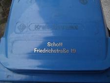 Mülltonnen Aufkleber, Beschriftung für Mülltonnen, geschnittene Folienbuchstaben