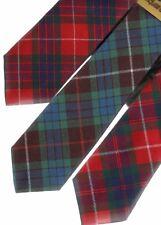 Tartan Tie Clan Fraser Scottish Wool Plaid