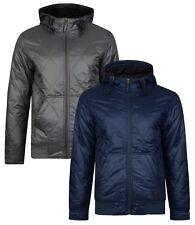 Ringspun Krarup Diamond Quilted Hooded Jacket Short Bomber Fashion Quilt Coat