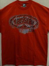 "SRH Men's T-Shirt ""Flint Lock"" --size S to 2XL, Color Red"