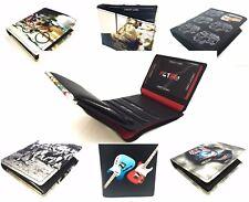 RFID Quality Tri or Bi Fold Leather Retro Wallet various Styles by Golunski