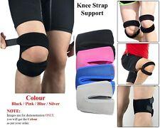 Adjustable Knee Support Brace Double Strap For Sport Patella Arthritis Neoprene