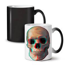 3D cranio di scheletro umano NUOVO colore modifica Tè Tazza Da Caffè 11 OZ | wellcoda