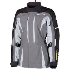 Klim Altitude Gore-Tex D3O Ladies Motorcycle Motorbike Jacket - Grey