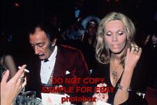 Amanda Lear - Exclusive Unpublished PHOTO Ref 264 Salvador Dali