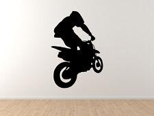Extreme Sports #2 -Dirt Bike Motocross Offroad Racing Tricks - Vinyl Wall Decal