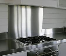 Cocina De Acero Inoxidable Pulido salpicaduras Cocina Vitrocerámica Placa Trasera Splash