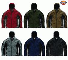 Dickies dos tono Chaqueta Softshell Impermeable Abrigo Polar trabajo Workwear-jw7010