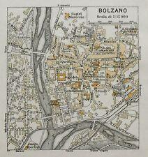 Antica Stampa=Topografica= BOLZANO =Scala1:15000-1909c.