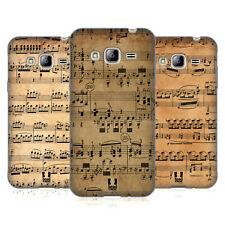 HEAD CASE DESIGNS MUSIC SHEETS SOFT GEL CASE FOR SAMSUNG PHONES 3