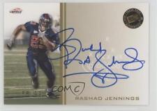 2009 Press Pass Signings Gold #PPS-RJ Rashad Jennings Liberty Flames Auto Card