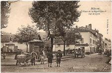 MACON (71) - Place de la République et Rue de Lyon