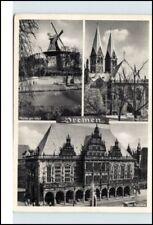 BREMEN Hansestadt Mehrbildkarte 3 Ansichten / Foto