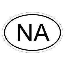 Namibia NA - csd0085 Autoaufkleber Sticker Aufkleber KFZ Flagge