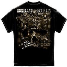 Erazor Bits Mens Graphic Apparel Mens T-Shirt HOMELAND SECURITY SWAT TEAM