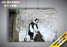 Poster BANKSY STREET ART MAID Wall Art