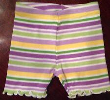 Gymboree Girls Biker Shorts - Spring & Easter 3,6,12,18,24 - Daffodil