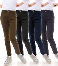 Jeans Hose Kinder Mädchen Röhrenjeans Lange Jeans Skinny Stretch Hosen 21743
