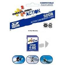 32GB SD Card Class 10 for GoPro HERO 2 Drift HD Stealth Mini