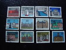 ALLEMAGNE RFA timbre yt n°288 a 295D obl - stamp germany