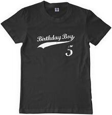 Threadrock Kids Birthday Boy 5 Year Old Youth T Shirt Happy 5th Five