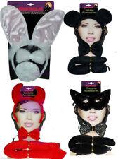 Women Girls Sexy Mouse Hen Night Party Devil Horns Bunny Wings Tiara Headband