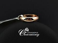 Classic Design 18K Rose Gold Plated Wedding Finger Rings for women