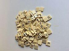 Vintage Scrabble Alphabet Letter Tiles - Replacement Craft Scrapbooking