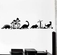 Wall Decal Dinosaur Dino Animals Interior Decor z3998
